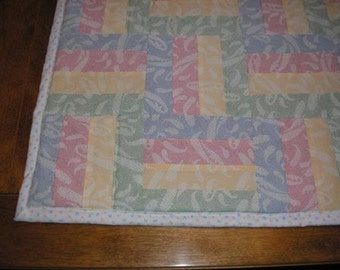 Pastel Quilt for Baby or Child