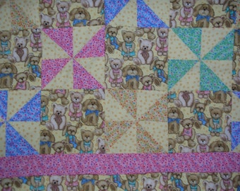 Animal Quilt for baby or Child