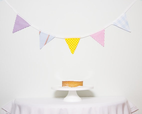 SALE Bunting Pastel LAST ONE Good Will Bunting Multi Colour