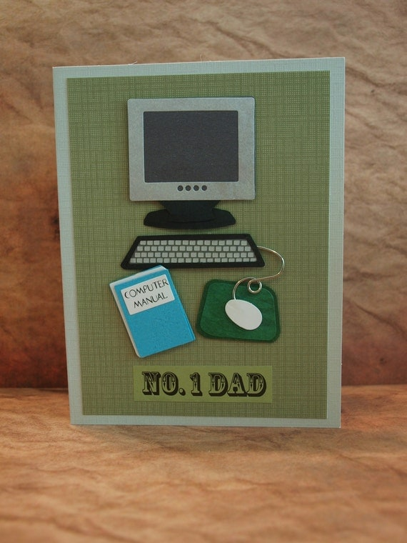 Father's Day card, For the IT, Computer Tech, Dad, Uncle, Godfather, Brother, Hello, Friend, any occasion