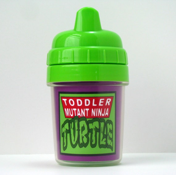 Ninja turtle sippy cup