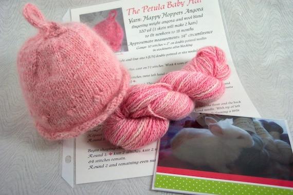 Knit Baby Hat Kit