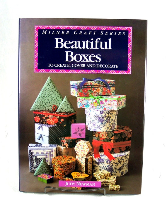 """Book """"Beautiful Boxes""""  How to Make and Cover Boxes"""