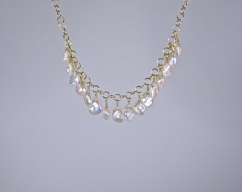Keishi Pearl Necklace