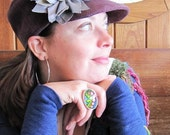 VinChic Grapevine Peace Hat