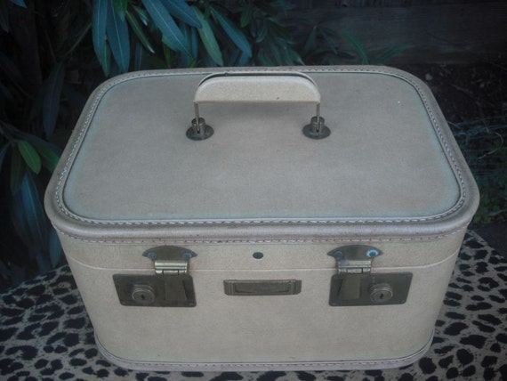RESERVED Vintage 1940's/50's Train Case J.C. Higgins for Sears Roebuck and Co.