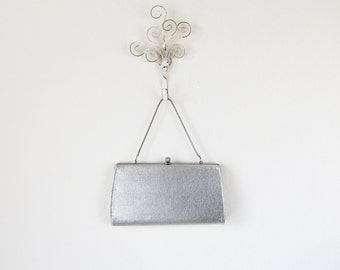 1950's Clutch/ Silver/ Shimmer Time