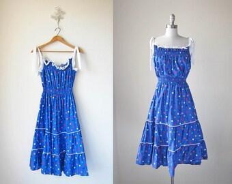 Smocked Dress/ Polka Dot/ Gumball Dress