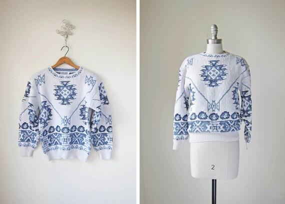 80s Sweater/ Ski Sweater/ Slalom and Slope