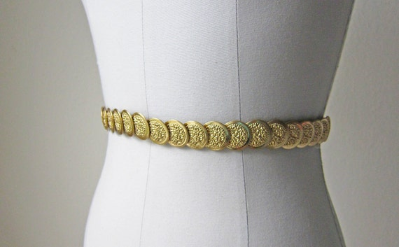 70s Belt/ Gold/ Roman Forum