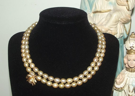 Abeille et Miel Perles - Golden Lucky Bee and Honey Pearls