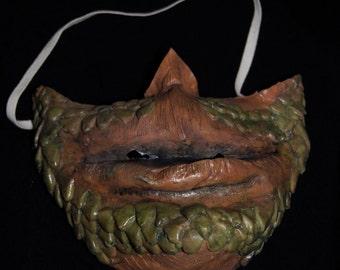 Scale Beard face mask