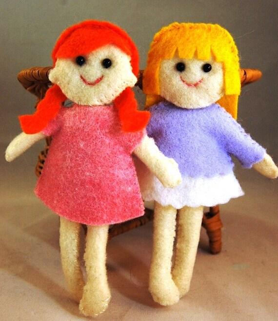 Soft Dollhouse Dolls