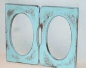 Turquoise Shabby Chic Frame