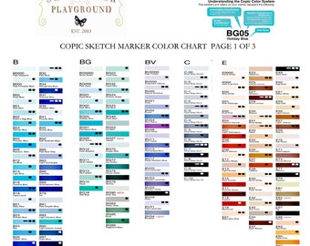 Copic Sketch Markers PICK ANY 6 Colors includes 1 FREE