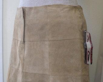 Leather Hip Skirt