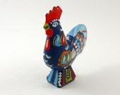Blue Dala Rooster -- Made in Sweden