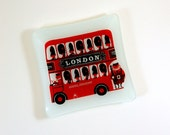 Kenneth Townsend London Bus Tray for Chance Glass