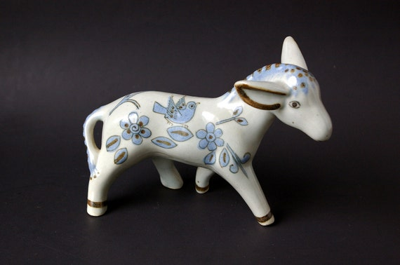 Ken Edwards El Palomar Donkey or Lamb Figurine