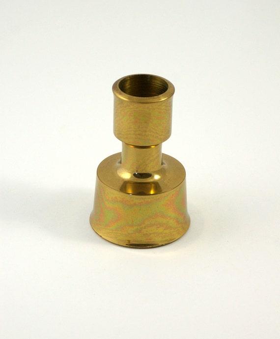 Brass Dansk of Denmark Candle Holder Designed by Jens Quistgaard - IHQ