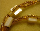 Square Cut Shell Necklace