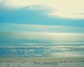 SALE/// Calm Blue Ocean - 5 x 7 Fine Art Photo Illustration