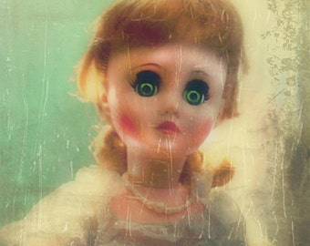 The Gaze- Doll Eerie ~ Fine Art Photograph/ Illustration