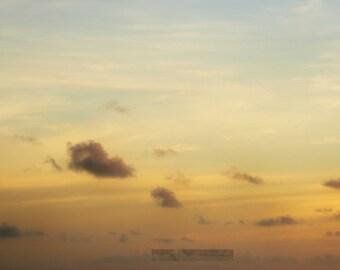 SALE/// Small Gray Clouds - 5 x 7 Fine Art Photo Illustration