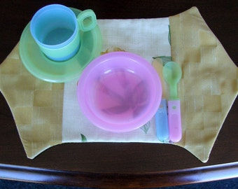 Childrens play sized placemats