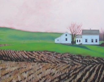 Spring at the Farmhouse, Green Pastures, New Beginnings