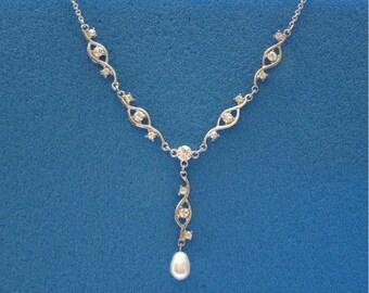 Swarovski Pearl Necklace (31H78)