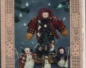 Wintery Friends doll pattern