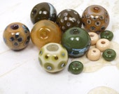 Earth Tones - Bead Set