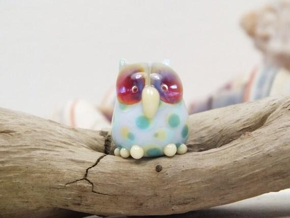 Hoot Pastel - Owl Bead