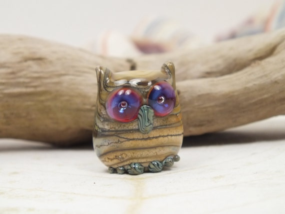 Sandy - Owl Bead