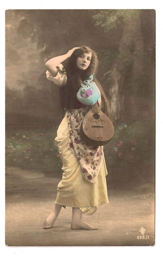 RESERVED for walt kolenda until 5.10.11 Beautiful Gypsy Woman
