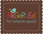 Reserved for vjewell