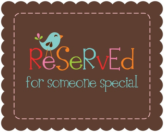 Reserved Listing for katiezemovich