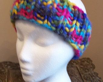 Super Bulky Knit Headband