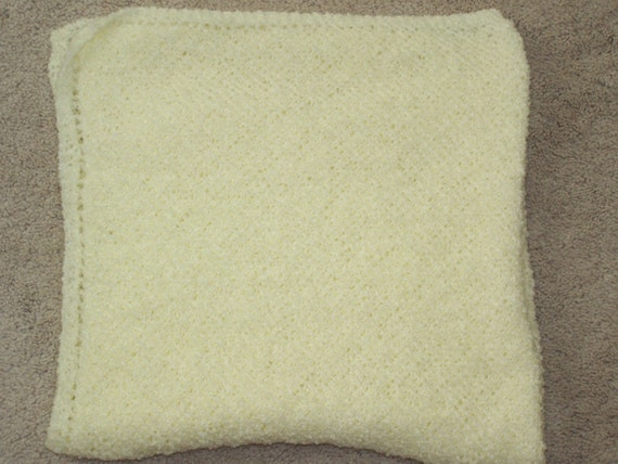So Soft  Knitted Baby Blanket