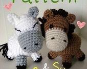 Amigurumi Pattern Little Horses - PDF