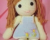 Amigurumi Doll Elara Crochet PDF Pattern