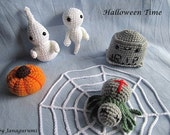 Amigurumi Happy Halloween Crochet Pattern PDF