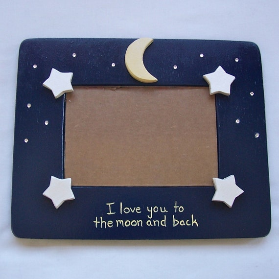 Picture Frame - I Love You to the Moon and Back