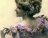 "Vintage Victorian ""Pretty Lady"" Photo - Large Digital Download"