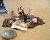 Miniature Victorian Ladies Tray Laurel Designs OOAK