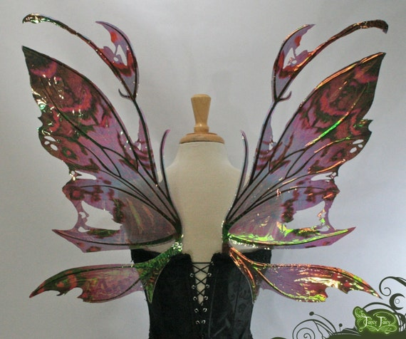 Kira Fairy Wings in your Custom Color Pattern