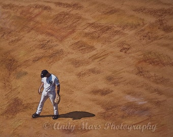 Yankee Player On The Field