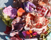 Modern Designer Fabric Scrap Bag