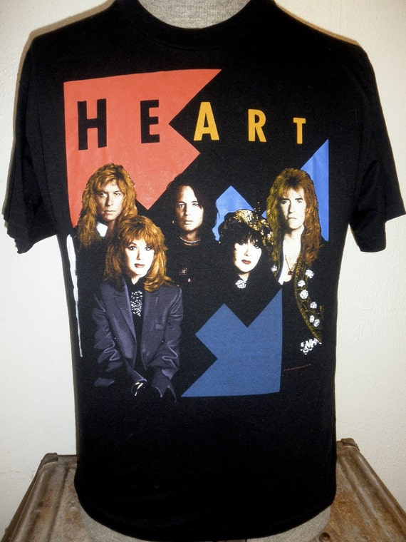 Heart World Tour Tshirt - Brigade - Perfect Condition - Men's Large